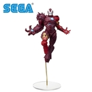 【日本正版】蜘蛛人 最大毒液 鋼鐵人 公仔 模型 19cm 毒液化鋼鐵人 MARVEL 漫威英雄 SEGA - 508103