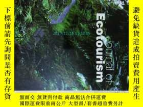 二手書博民逛書店外文雜誌罕見Journal of Ecotourism 生態旅遊
