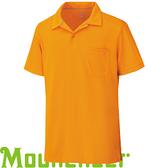 【Mountneer 山林 男 透氣排汗上衣 亮橘】 21P09/排汗衣/運動T恤/休閒衫