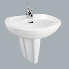 《修易生活館》HCG 和成 洗臉盆 LF367 S 龍頭 LF3188 E (白色)