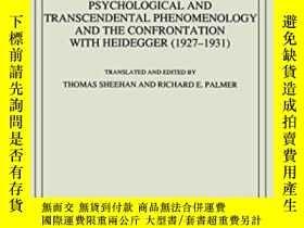 二手書博民逛書店Psychological罕見And Transcendental Phenomenology And The C