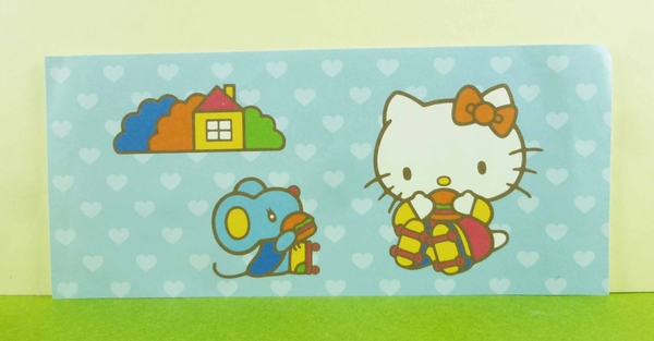 【震撼精品百貨】Hello Kitty 凱蒂貓~卡片-老鼠藍