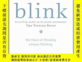 二手書博民逛書店Blink:By罕見the author of 《THE TIPPING POINT》Y23583 Malco
