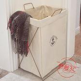 棉麻臟衣籃折疊收納箱桶大號防水洗衣籃臟衣服收納筐玩具儲物箱快速出貨下殺89折