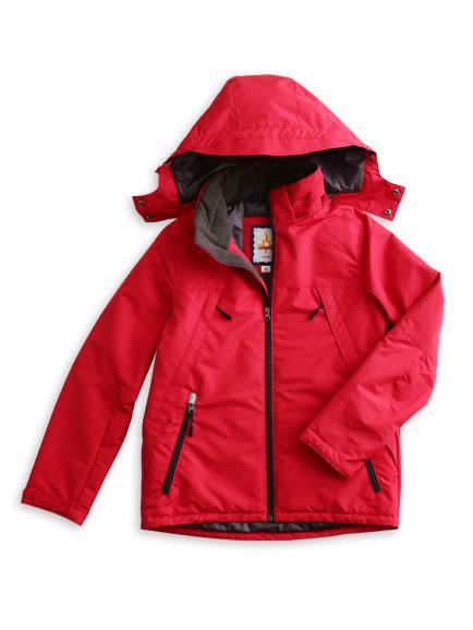 BOBSON 女款鋪棉防風透氣外套(紅34115-13)