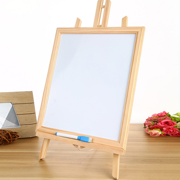 【BlueCat】雙面磁性黑白板立架 黑板 白板 小畫架 公佈欄 告示牌 居家裝飾 備忘錄 廣告看板