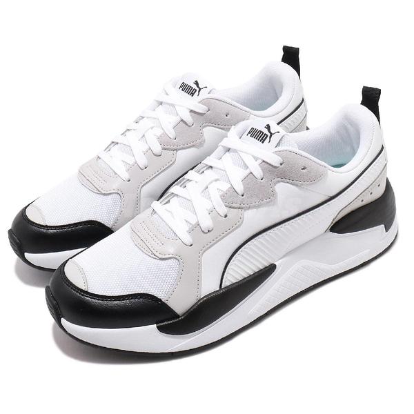 Puma 休閒鞋 X-Ray 白 黑 男鞋 復古慢跑鞋 老爹鞋 運動鞋 【ACS】 37284902
