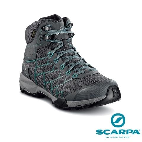 義大利【SCARPA】HYDROGEN HIKE 女款中筒 GTX 防水健行鞋、登山鞋