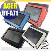 【EZstick】ACER iconia B1 B1-A71 平板專用皮套 (背夾旋轉款式)(加碼送平板機身背貼)