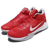 【六折特賣】Nike 籃球鞋 Zoom Evidence 高筒 紅 白 避震 男鞋 運動鞋 球鞋推薦【PUMP306】 852464-601