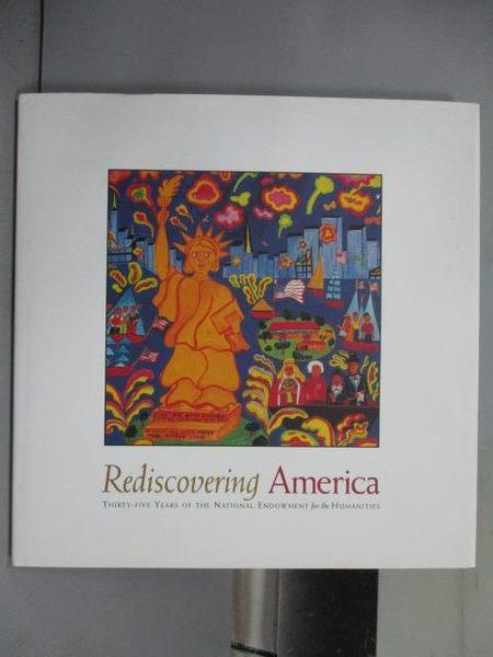 【書寶二手書T8/藝術_PIE】Rediscovering America