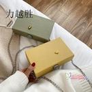 盒子包包 網紅洋氣少女小包包2020新款潮韓版百搭斜背包ins鍊條盒子小方包 4款