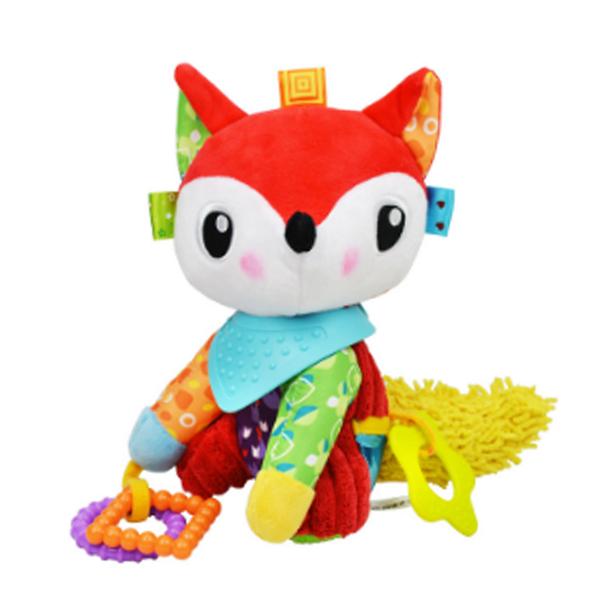 安撫玩具 可愛動物玩偶固齒器-JoyBaby