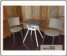 {{ 海中天休閒傢俱廣場 }} G-52 戶外時尚 編藤桌椅系列 42-8 60cm方桌椅組(1桌2椅)