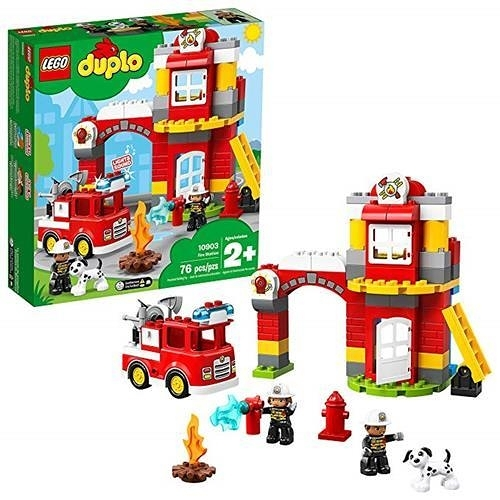 LEGO 樂高 DUPLO Town Fire Station 10903 Building Blocks (76 Pieces)