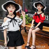 女童夏裝兒童裝時髦套裝洋氣韓國中大童女孩衣服潮12歲春【東京衣秀】