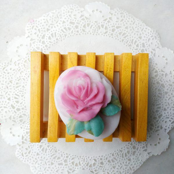 花中之后立體藝術手工皂