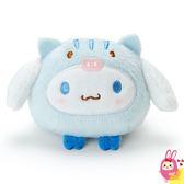 Hamee 日本正版 三麗鷗 豬年限定 圓滾滾山豬造型 絨毛娃娃 掌上型玩偶 (大耳狗) 253626N