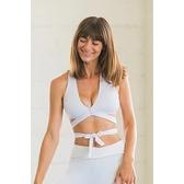 【南紡購物中心】【Flexi Lexi】White Betty Bralette 運動內衣
