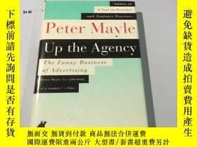 二手書博民逛書店英文原版:Up罕見the Agency the Funny Bu