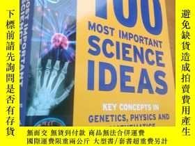 二手書博民逛書店100罕見Most Important Science Idea