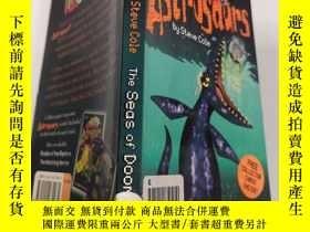 二手書博民逛書店the罕見seas of doom 厄運之 海Y200392