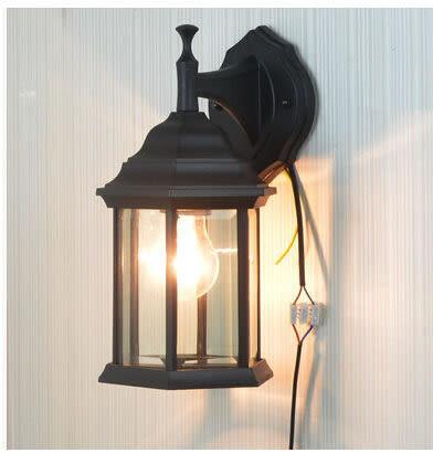 設計師美術精品館特價戶外燈歐式花園壁燈 別墅陽台燈防水景觀燈具現代簡約led路燈
