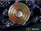 專業2寸風水小羅盤 風水盤高精度隨身攜帶袖珍迷你純銅化煞羅經儀  瑪奇哈朵