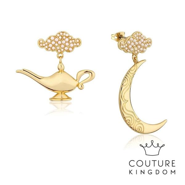 Couture Kingdom 迪士尼阿拉丁神燈鍍金耳環 Aladdin Genie Lamp Earrings