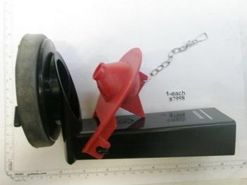 【麗室衛浴】美國 KOHLER 85212 原裝 馬桶水箱落水器 +止水皮