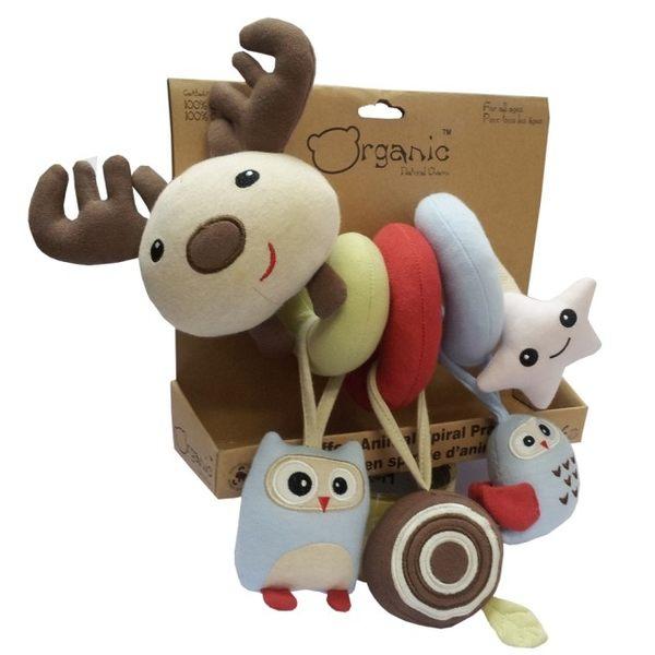 Oragnic 有機麋鹿推車環繞玩具 (狐狸/麋鹿)