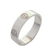 Cartier 卡地亞 Love Ring 18K白金戒指 #62 【BRAND OFF】