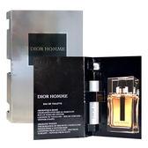 Dior 迪奧Homme 男性淡香水針管 1ml【5295我愛購物】