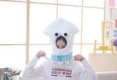 【單一款】日本風章魚頭造型頭帽 變裝帽 拍照裝飾品 聖誕節交換禮物 尾牙春酒派對表演 搞怪