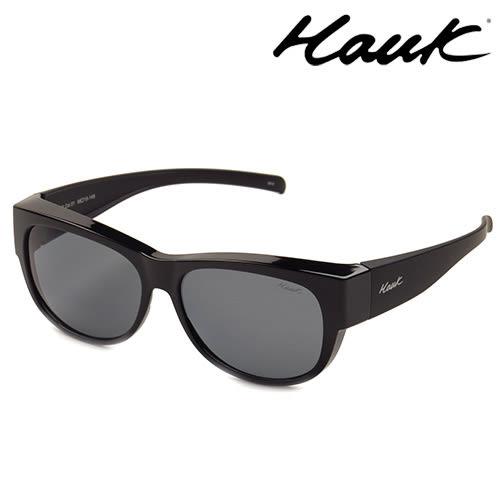 HAWK偏光太陽套鏡(眼鏡族專用)HK1006-01