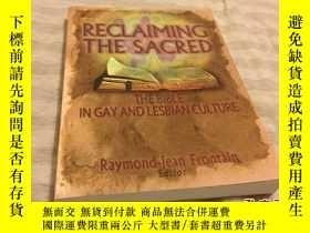 二手書博民逛書店Reclaiming罕見the Sacred: The Bibl