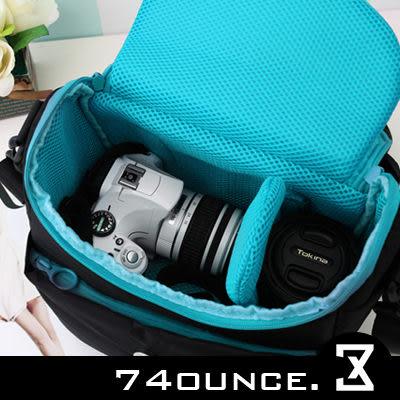 74盎司@[G-259] 日系繽紛色系單眼多隔層相機包((大)) CANON 550D Pentax Sony Nikon