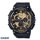 CASIO 黑金指針大錶面三眼膠帶錶 50mm MCW-200H-9A 學生錶 當兵軍用錶 公司貨 | 名人鐘錶
