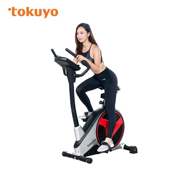 【超贈點五倍送】tokuyo 黑騎士 電動立式車 家用高階健身車 TB-360 贈冷熱雙效按摩棒(市價$3288)