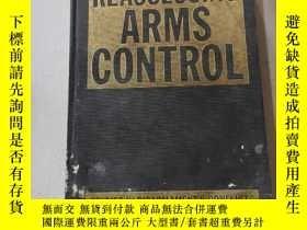 二手書博民逛書店REASSESSING罕見ARMS CONTROL:重新評估軍備控制Y212829