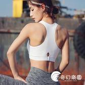 運動內衣-運動文胸女背心式夏新款內衣防震健身定型透氣瑜伽bra-奇幻樂園