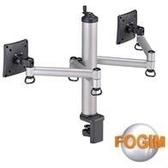 [富廉網] FOGIM TKLA-1222-S 夾桌旋轉式液晶螢幕支架(雙螢幕)(和順電通)