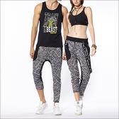 不對稱個性嘻哈褲 TA646 (男女皆可穿/商品不含配件)- 百貨專櫃品牌 TOUCH AERO 瑜珈服有氧服韻律服