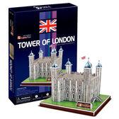 A1014【3D Puzzle 立體拼圖】世界建築精裝版-英國倫敦塔橋