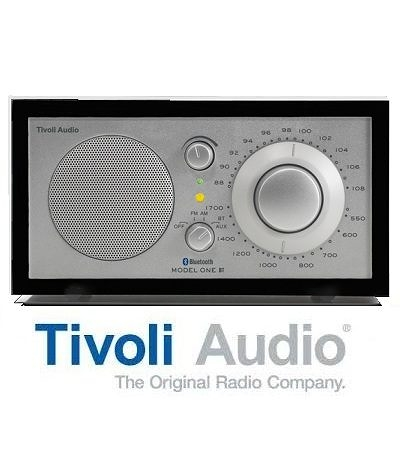 Tivoli Audio Model One BT 藍芽 藍牙 桌上型 AM/FM 收音機 喇叭 銀黑色