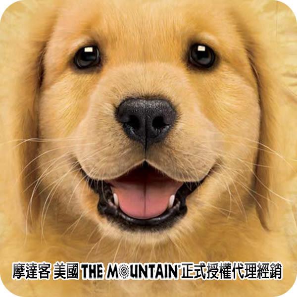 【摩達客】 (預購) 美國進口【The Mountain】自然純棉系列 小黃金獵犬 T恤 (10414045003a)