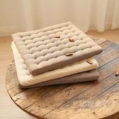 坐墊 餐廳實木椅子坐墊椅墊中式凳子辦公室座榻榻米學生加厚秘密盒子
