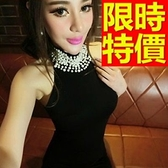 洋裝-夜店百搭氣質韓版連身裙55h5[巴黎精品]