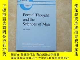 二手書博民逛書店formal罕見thought and the sciences of manY179148 formal t