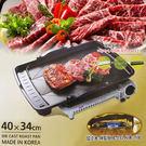 韓國 Hanaro 長形斜式排油烤盤 40x34cm 韓式烤肉 油切烤盤 室內 戶外 烤肉烤盤【特價】★beauty pie★